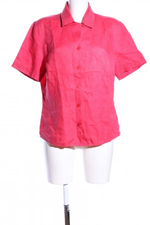 Bianca Short Sleeve Shirt pink casual look