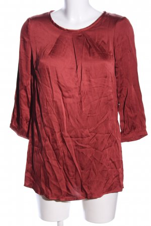 Bianca Langarm-Bluse rot Casual-Look