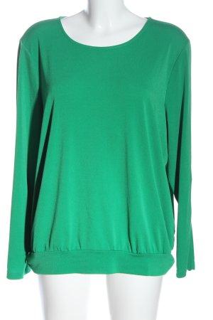 Bianca Langarm-Bluse grün Casual-Look