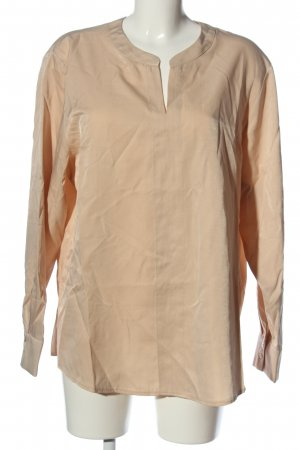 Bianca Long Sleeve Blouse nude business style