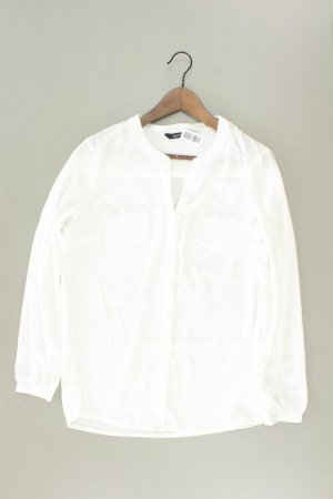 Bianca Long Sleeve Blouse natural white polyester
