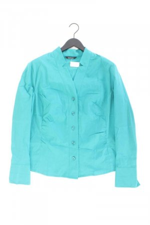 Bianca Long Sleeve Blouse turquoise polyester