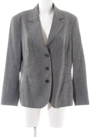 Bianca Long Blazer light grey flecked business style