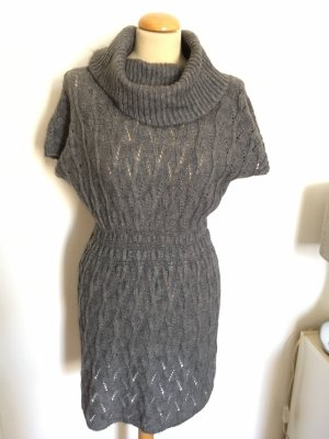 Bianca Made in Italy Strickkleid Ajour Gr S M Mohair/Wolle/Tierhaar