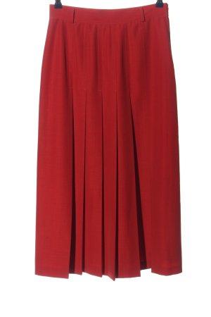 Bianca Jupe mi-longue rouge style décontracté
