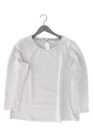 Bianca Pullover Größe 46 grau aus Baumwolle