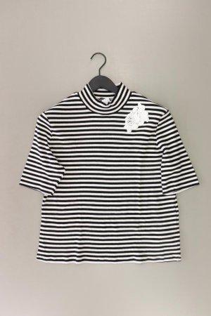Bianca T-shirt rayé blanc cassé coton