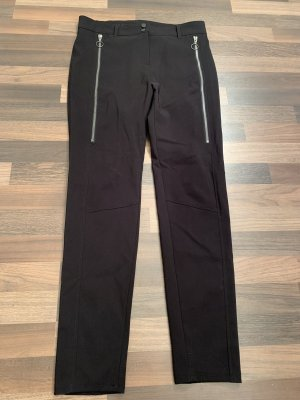 Bianca Jersey Pants black-silver-colored