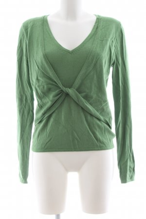 Bianca Knitted Sweater green casual look