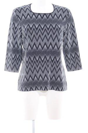 Bianca Sweat Shirt spot pattern casual look