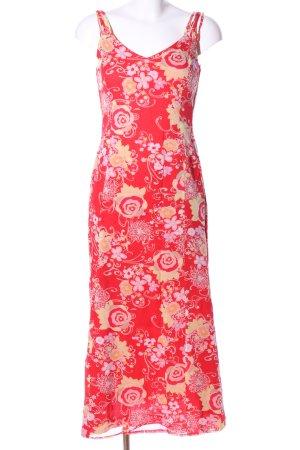 Bianca Trägerkleid abstraktes Muster Elegant