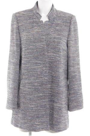 Bianca Between-Seasons-Coat light grey-white flecked casual look