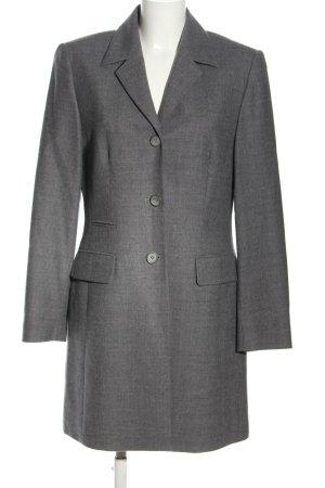 Bianca Wool Coat light grey flecked business style