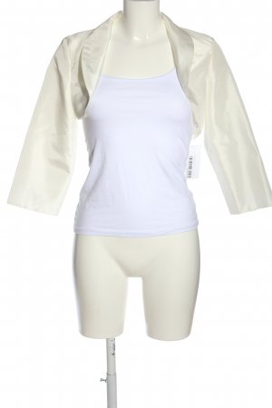 Bianco Evento Bolero natural white casual look