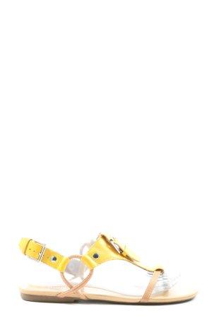Bianco Strapped Sandals primrose-cream casual look