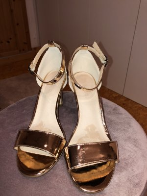 Bianco Strapped Sandals rose-gold-coloured-pink