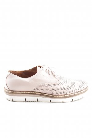 Bianco Lace Shoes pink spot pattern business style