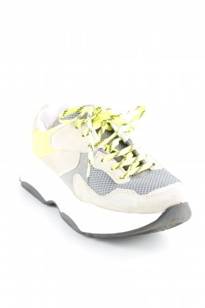 Bianco Lace-Up Sneaker multicolored casual look