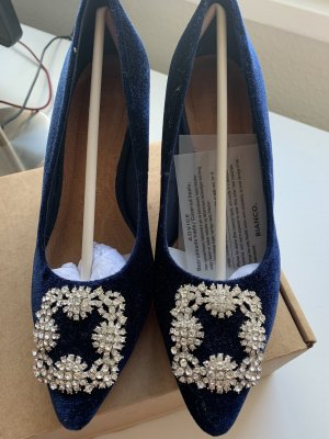 Bianco High Heels blue