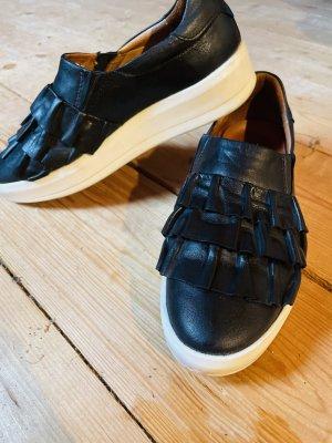 Bianco Slip-on Shoes black