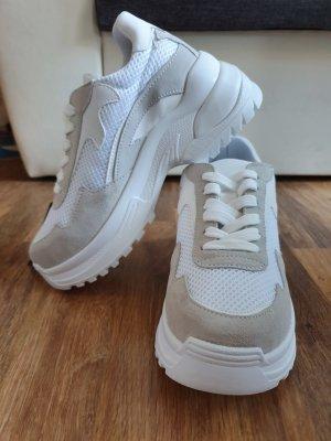 Bianco High Top Sneaker white-light grey