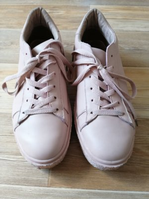 Bianco Lace-Up Sneaker pink