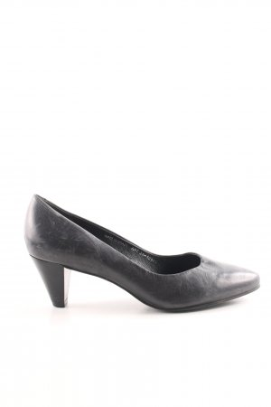 Bianco Spitz-Pumps schwarz Business-Look