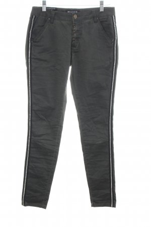 Bianco Jersey Pants black casual look