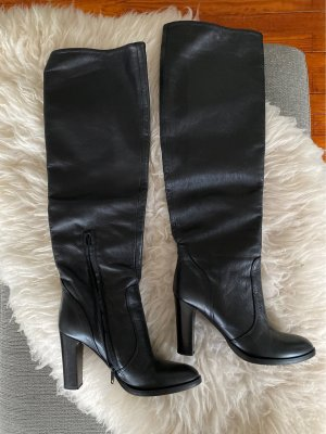 Bianca Di High Heel Boots black