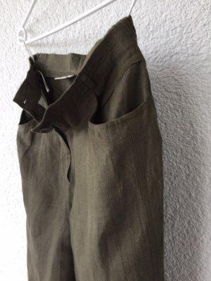 Bianca 7/8-broek groen-grijs