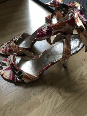 Bianco Strapped Sandals multicolored