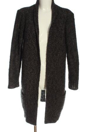 Biaumax Cardigan light grey weave pattern casual look