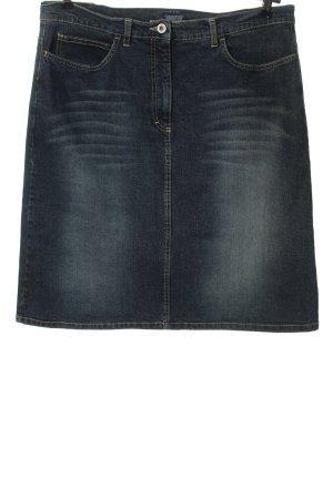 Blaumax Jupe en jeans bleu style décontracté