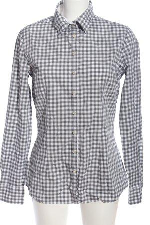 Biaumax Long Sleeve Shirt light grey-white allover print business style
