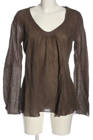 Biaumax Transparent Blouse brown casual look