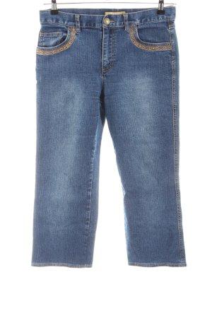 Biba Jeans a 3/4 blu stile casual