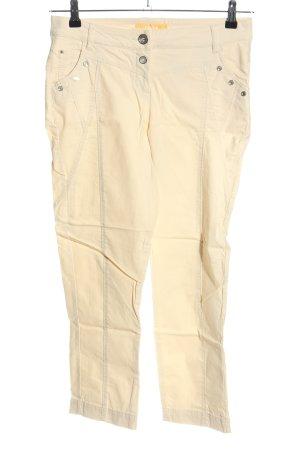 Biba 7/8 Length Trousers cream casual look