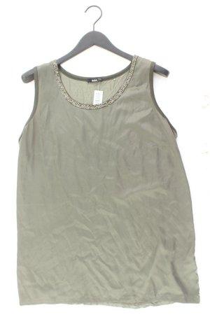 Biba Sleeveless Blouse olive green polyester