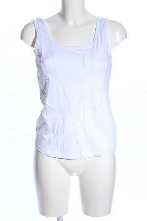 Biba Basic topje wit casual uitstraling
