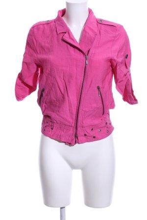 Biba Blusenjacke pink Casual-Look
