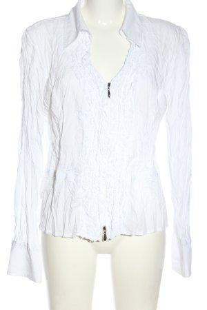 Biba Veste chemisier blanc style d'affaires