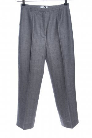 Biba Bundfaltenhose Streifenmuster Business-Look