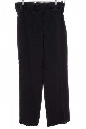 Biba Bundfaltenhose schwarz Business-Look