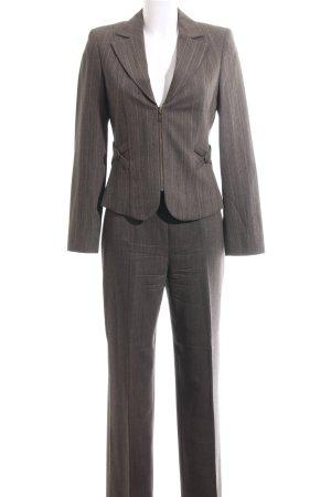 Biba Business-Anzug braun meliert Business-Look