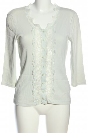 Biba Cardigan bianco stile casual