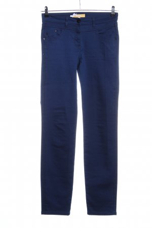 Biba Five-Pocket-Hose blau Business-Look