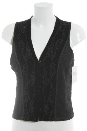 Biba Fleeceweste schwarz Elegant