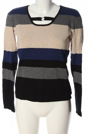 Biba Coarse Knitted Sweater allover print casual look