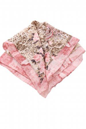 Biba Neckerchief brown-pink flower pattern casual look