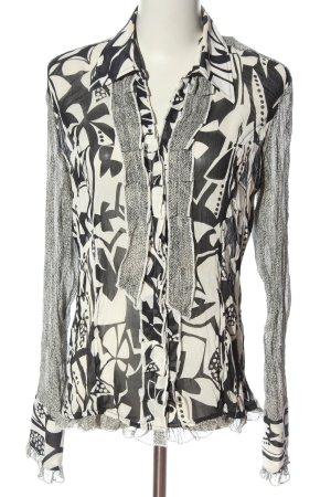 Biba Hemd-Bluse abstraktes Muster Casual-Look